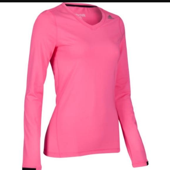 9a216565274c9 adidas Tops | Womens Long Sleeve Techfit Top | Poshmark
